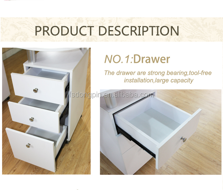 cheap nail desk table foshan