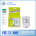 Ce fcc rohs masculino para feminino tomada elétrica adaptador macho para fêmea adaptador de tomada elétrica js-933l