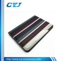 2015 Mix Color Style Leather Material case for ipad from China factory