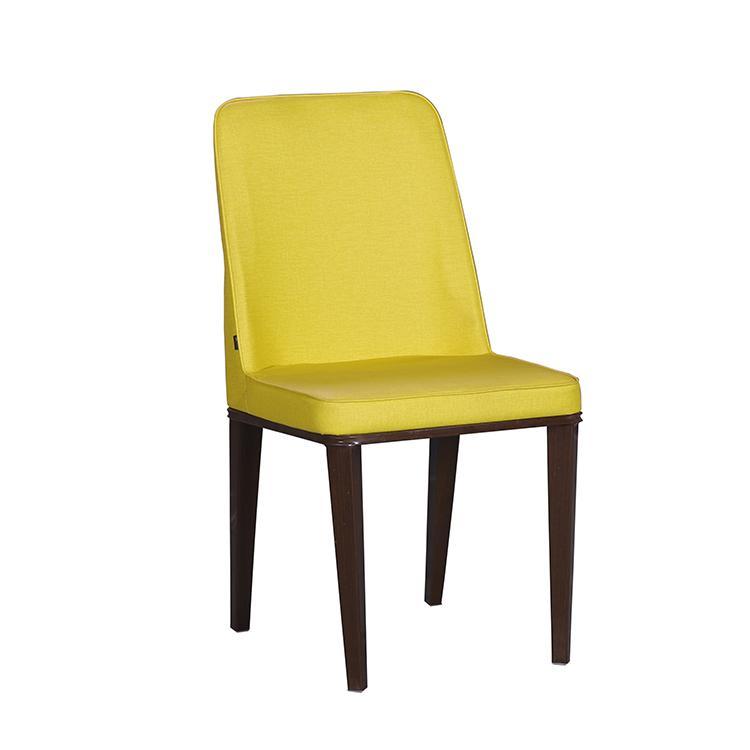 Оптом дешевые современные Украшенные Желтый гостиная кожа lounge стулья