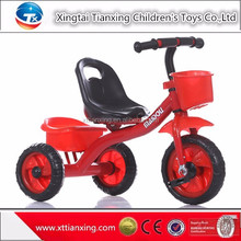 2015 New Model kid tricycle pedal tricycle metal tricycle for children toddler school