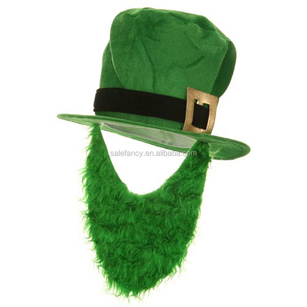 Green Velvet Top Hat - Beard bsh-1621.jpg