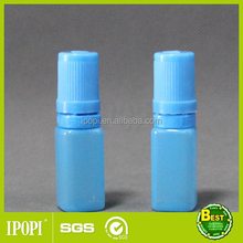 Square eye drops bottle, 5ml 10ml eye dropper bottle with childproof cap for essential oil, liquid nicotine