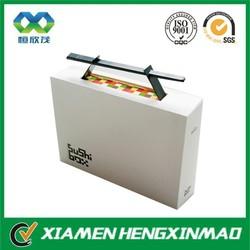 Custom design paper sushi box for takeaway sushi packaging