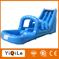 YIQILE outdoor equipment commercial water inflatable playground slide for sale