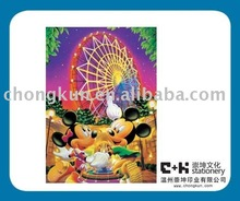 Promotional gift lenticular 3d painting of cartoon pictures