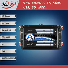 2 Din Car PC For VW Golf Passat Factory Touch Screen 800*480 Resolution With Windows OS