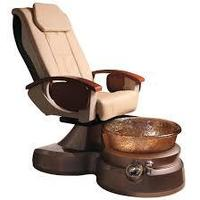 elegant shape pedicure spa chair /foot rest spa chair