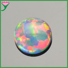 opal bead flat bottom/opal stone cabochon/5mm opal stone round