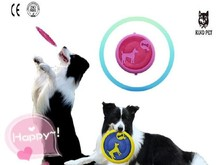 popular durable dog toys dog toy flying disc toy rubber disc