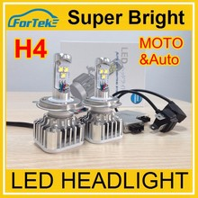 wholesale auto/car/motorcycle/moto cree led headlight H4 new car accessories products