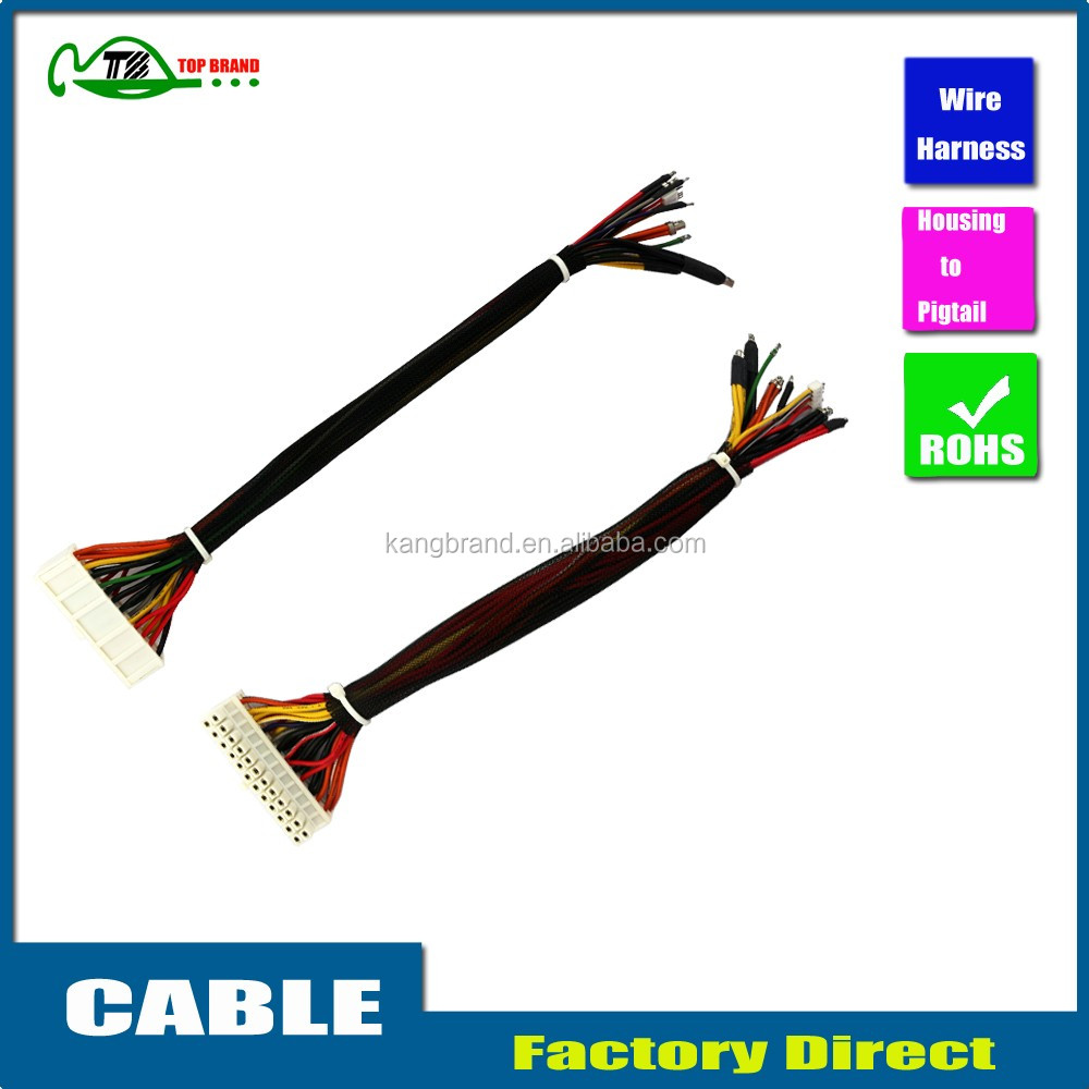 China Manufacturer Custom Twisted Cable Wire Harness Assemblies For ...
