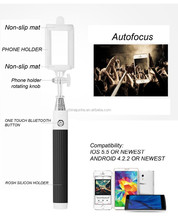 Factory price foldable extendable selfie stick wired,monopod selfie-stick