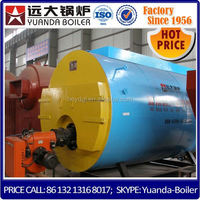 1t/h nature gas steam boiler use for parboiling rice