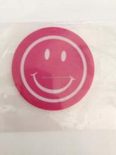 smile shape hanging paper car air freshener