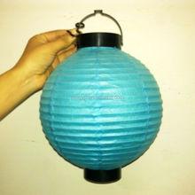A118PL Wholesale Mix Color Paper Hanging Lantern Led