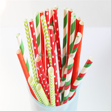 Polka Dots Paper Straws Cake Pop Lollipop Sticks Vintage Sailor Stripe Stripey Paper Straws Table Decorations