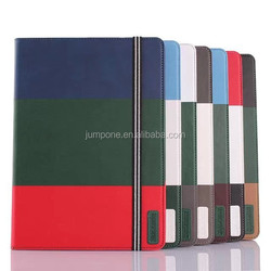 Rainbow wallet Leather Flip Cover Colorful Case with stand card slot for ipad mini 1 2 3