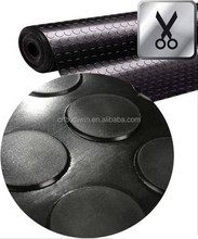 colorful SBR or others round dot/stud/coin rubber sheet