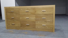 wood chest of drawers with wood stain XYN1218