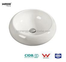 2015 bathroom round ceramic china sanitaryware