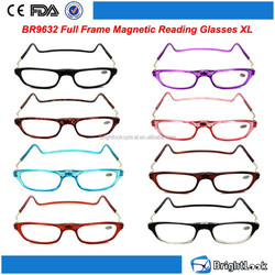 2015 High quality Fashion new style magnetic reading glasses