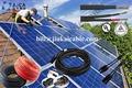 envoltura de goma flexible cable de energía solar