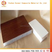 light weight reynobond aluminum honeycomb interior wall panel