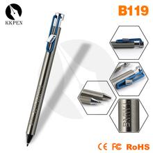 Shibell carpenter pencil translucent plastic ball pen logo on pen clip metal pen