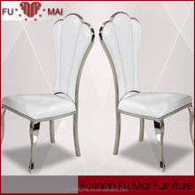 Indonesian chairs for dining room,french high back chair,white throne chair
