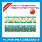 O mais novo combo reset chip cartucho de tinta para impressora epson xp702/802