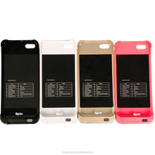 Creative colorful Protective 2200mah backup battery charger case for iPhone5 5S,for iPhone 5 5S