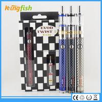 New product evod twist 3 ego t electronic cigarette dubai