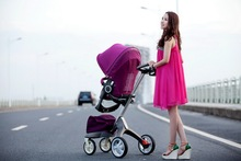 2014 New c Stroller,Baby Pram, High Quality baby stroller 3 in 1