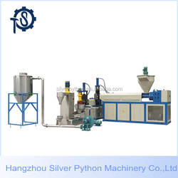 pe pp waste cost of plastic recycling machine