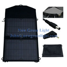 NGL Solar Charger 10W 12V Monocrystalline Intelligent Controller USB Chainable Black Water-resistant Solar Panel NGL-101001202