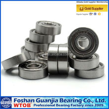 Hot Sale Stainless Steel Miniature Ball Bearing s608z S608zz