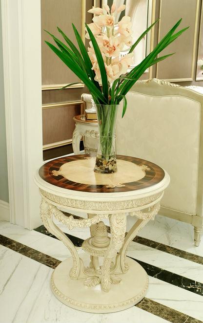 Luxus wohnzimmer beistelltisch royal wohnzimmer for Telefon beistelltisch