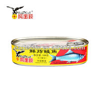 184g Canned fried dace in brine