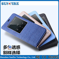 Leather flip case for lenovo p70, smart leather case cover for lenovo p70