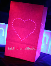 Popular Wedding Party luminary candle bags