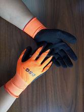 Working gardening safety dipping/coating gloves / EN388 EN420 CE / Protection