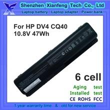 Original DV4 laptop battery for HP DV5 DV6, CQ40 CQ45 CQ50 CQ60 CQ70