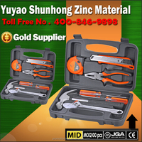 Promotional household DIY 25pcs hand tools set with flashlight torch