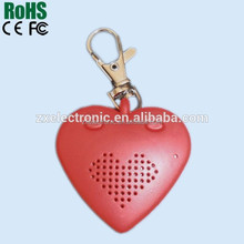 New Design Heart Voice Recorder for Music Box or Keychain