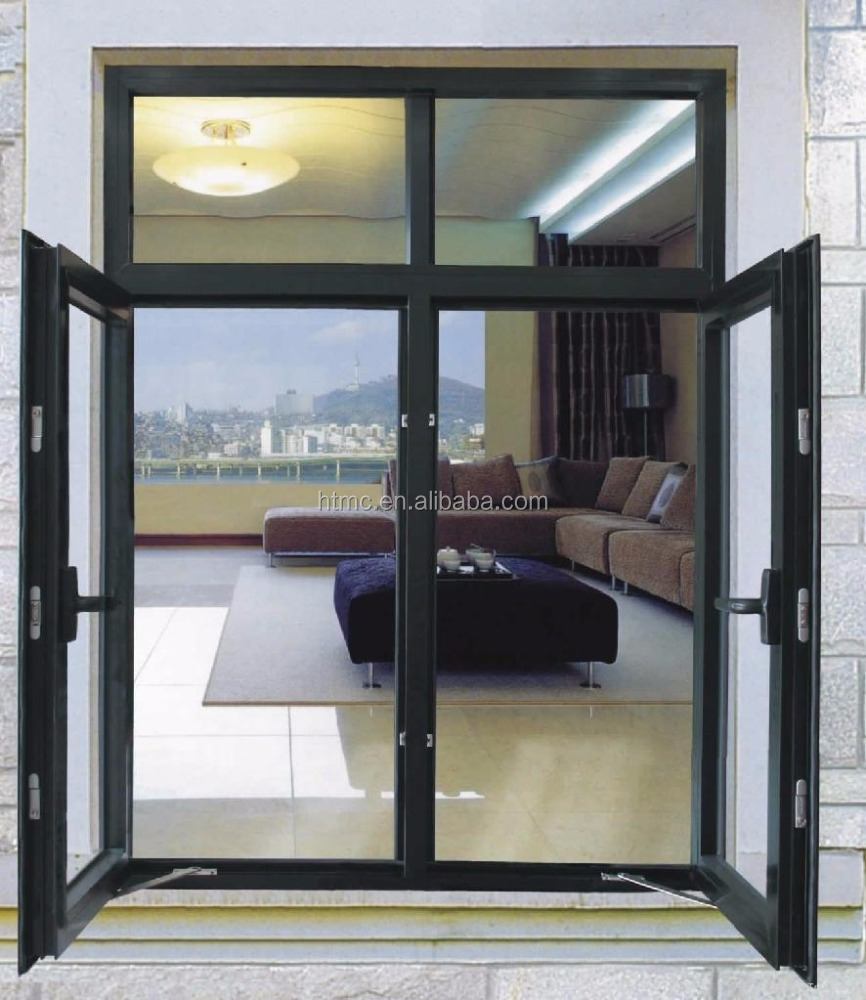 China supplier aluminum casement windows and doors cheap for Windows 4 sale