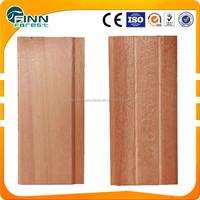 Canada cedar sauna room wall board