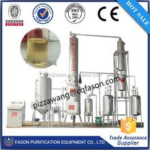 Lastest design and advanced technology waste oil distillation equipment (Change black to yellow)