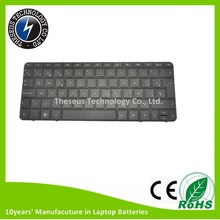 High quality CQ10 Laptop Keyboard for HP MINI 110-3000 CQ10 CQ10-500 621302-001 with US layout