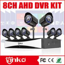 New CCTV 8 channel hd camera